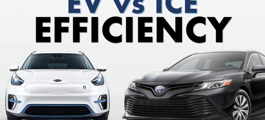 Is the EV more efficient than a fossil fuel vehicle?