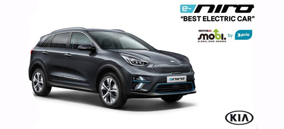 Kia e-Niro was awarded as the 'Best Electric Car'