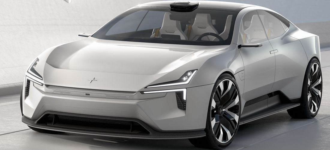 Polestar Precept electric Concept features an exciting design