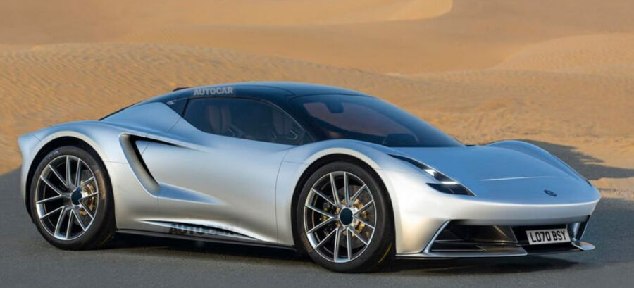 Lotus comeback with a new model and hybrid V6