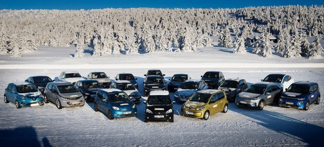 Mega winter range test for 20 electric cars
