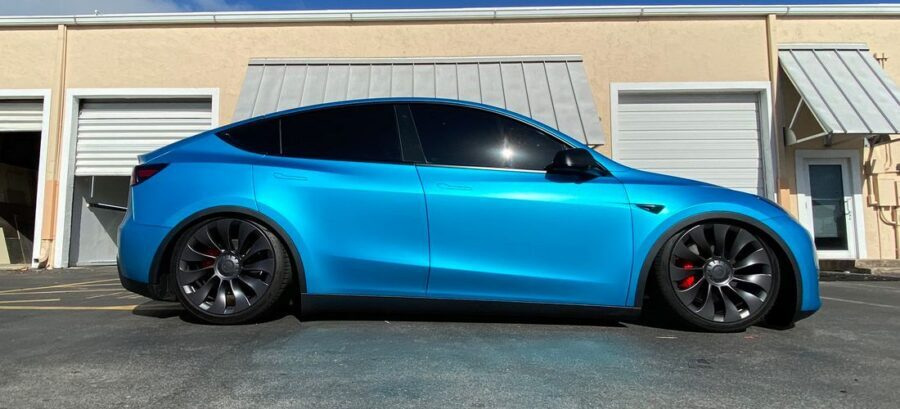 This tuned Tesla Model Y looks really aggressive