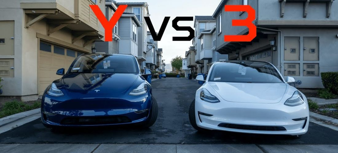 Tesla Model Y vs Model 3 : What's the differences ?