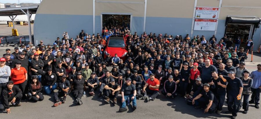 Tesla surpasses 1 millionth EV milestone today