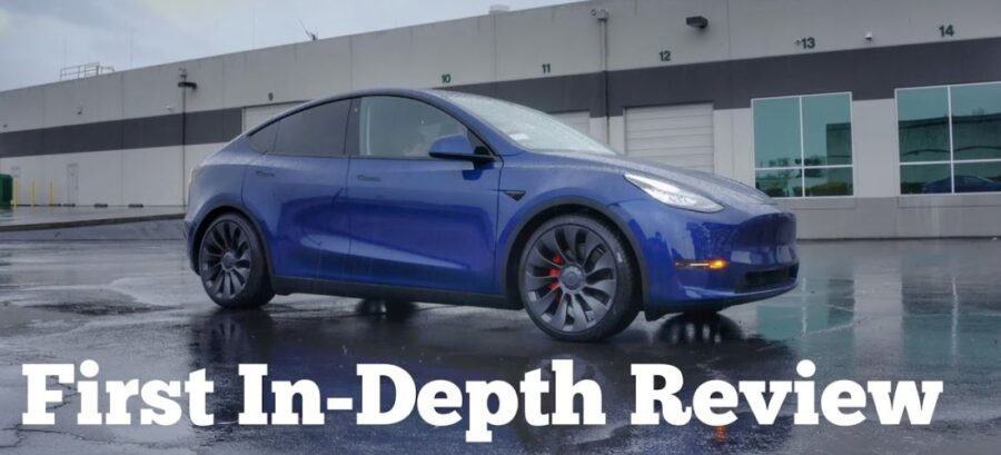 New Tesla Model Y Performance First In-depth Review