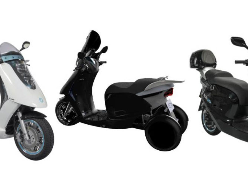 Eccity electric scooters with 120 km range