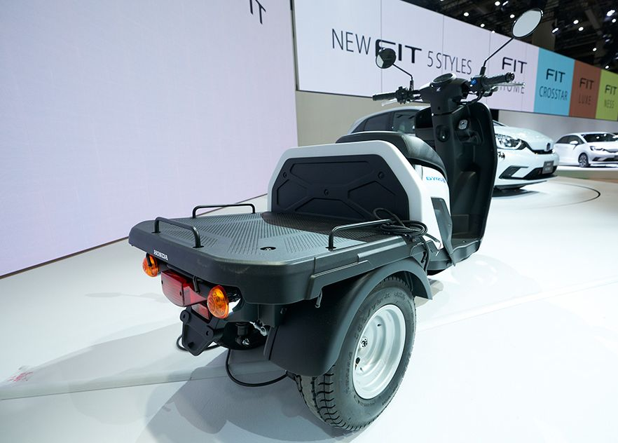 new Honda scooters