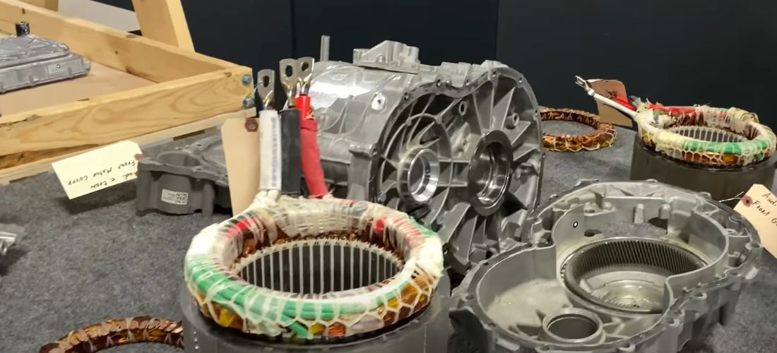 Watch most popular EV electric motors dismantled