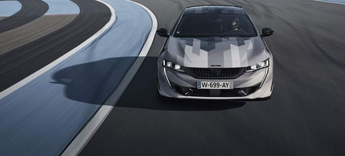Peugeot 508 PSE Sport hybrid with 400 HP