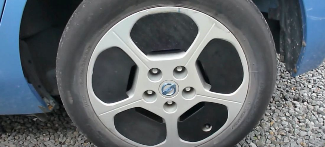 Nissan Leaf aero wheel