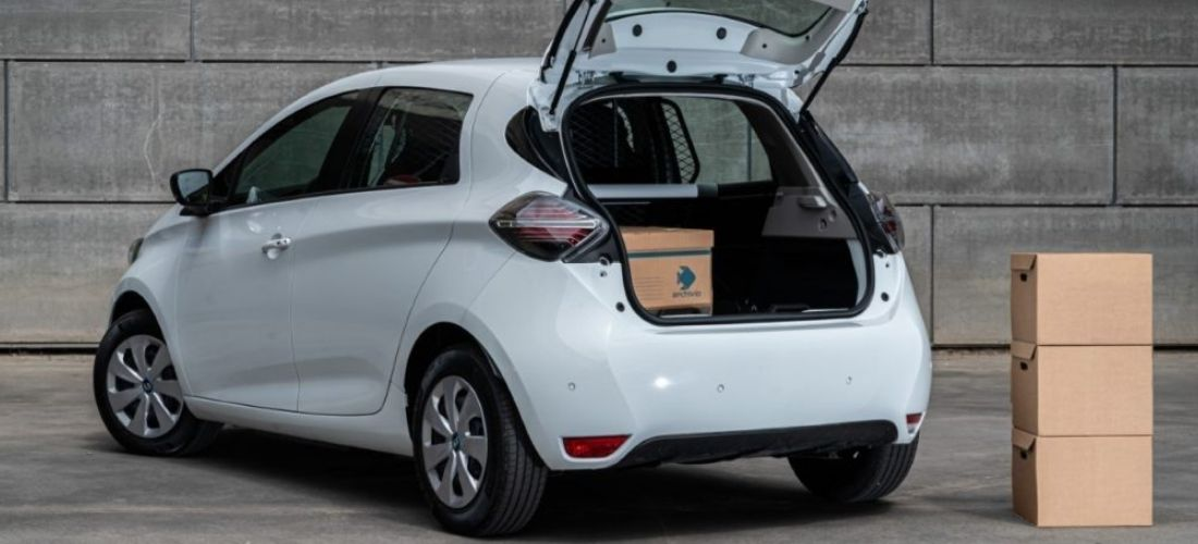 Renault reveals the electric Zoe for business