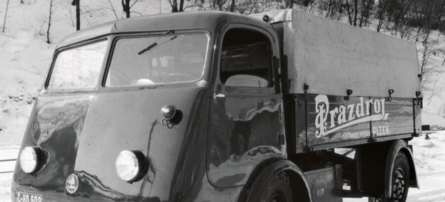 Beer truck was Skoda first electric vehicle