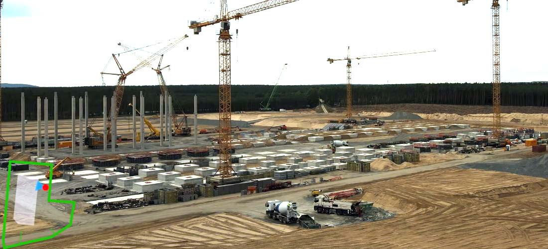 Watch Giga Berlin Gigafactory 4 progress july 2020