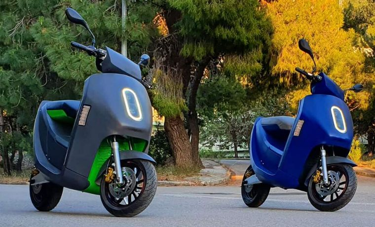 Greek electric scooter