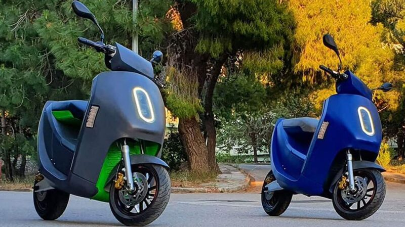 Greek electric scooter with 180 km of range