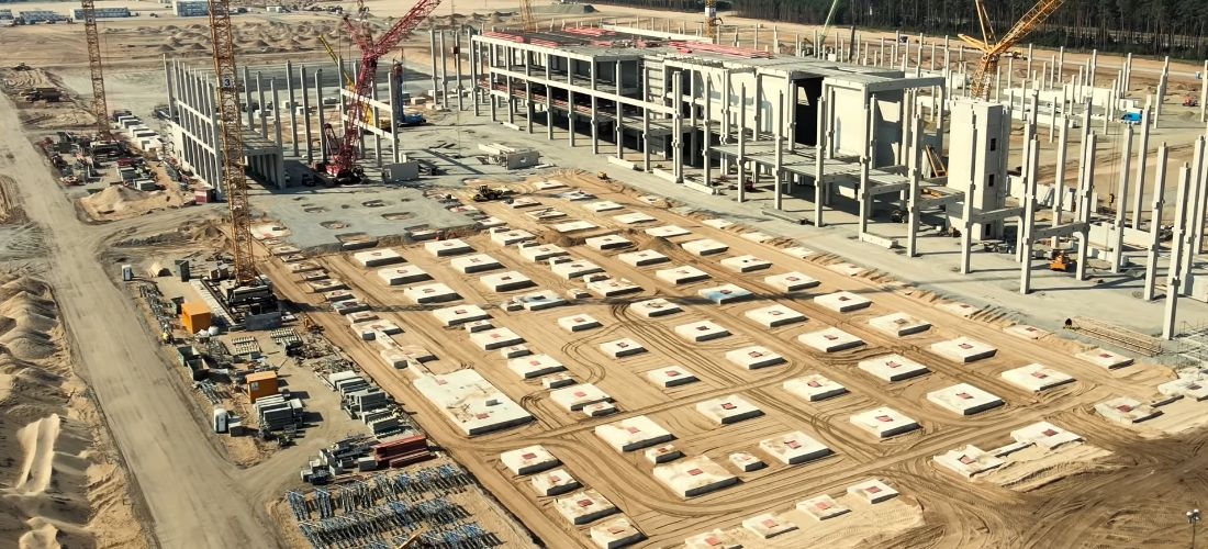 Watch Tesla Gigafactory 4 progress on Mid-August