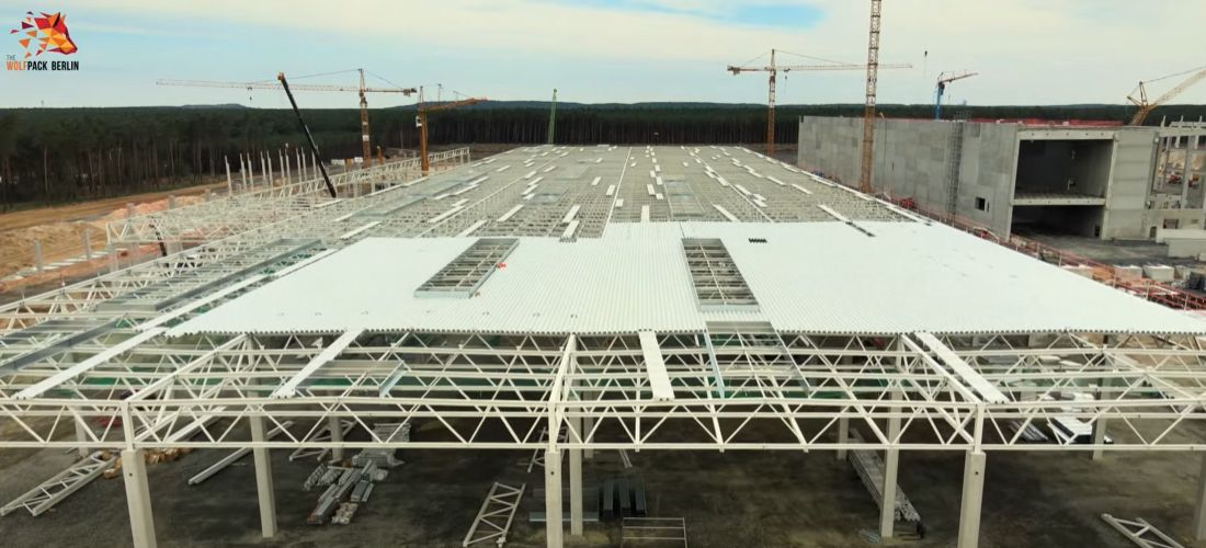 Tesla Gigafactory Giga Berlin progress end of August