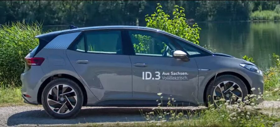 VW shows how broke the official range number of ID.3