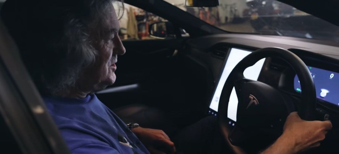 Watch what James May dislikes about Tesla Model S