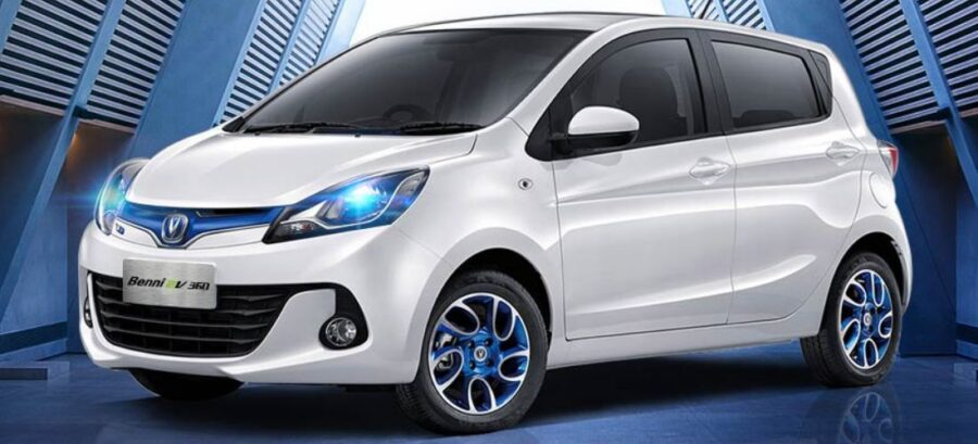This mini electric car from China has an amazing price