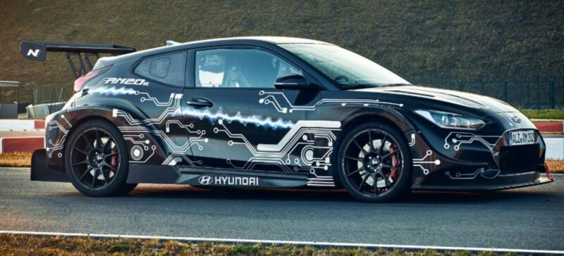 Hyundai electric RM20e prototype with 820 HP