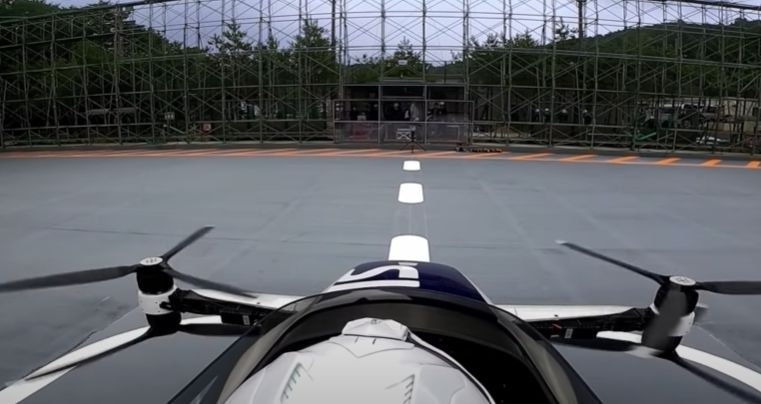 human piloted drone