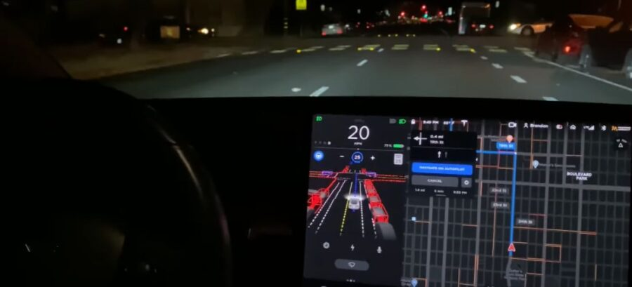 Watch how the Tesla FSD Beta react | video collections
