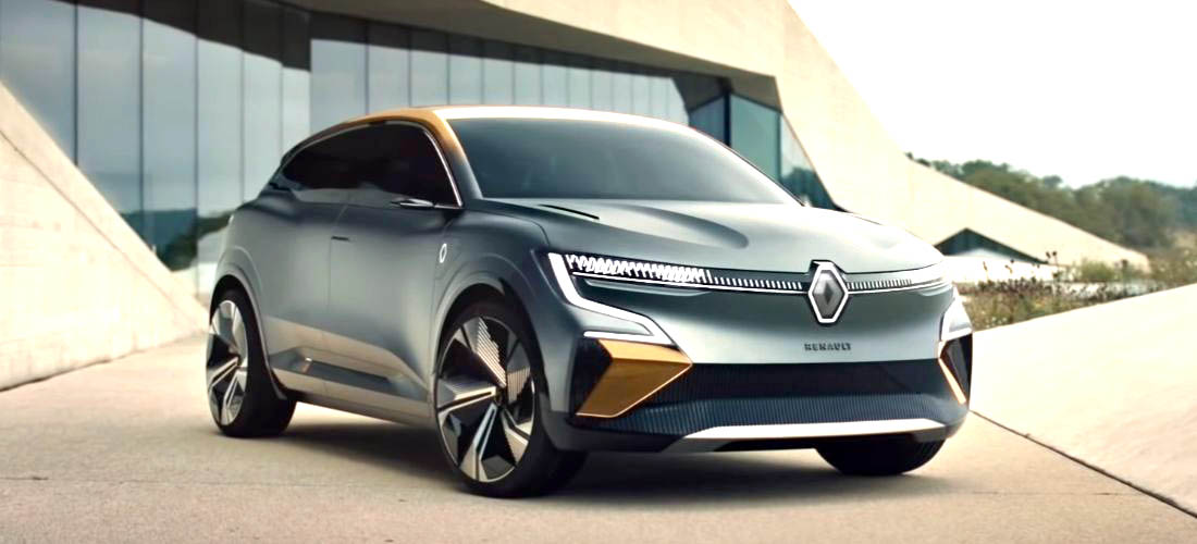 All-electric Renault Megane SUV with 450 km of range