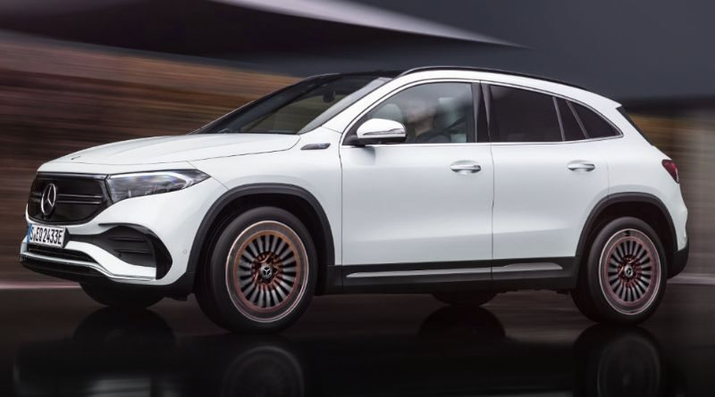 New Mercedes EQA compact SUV with 265 miles of range