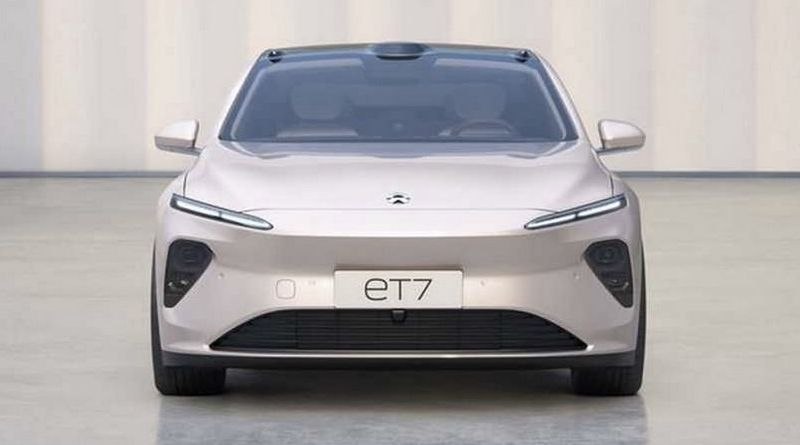 new NIO electric sedan