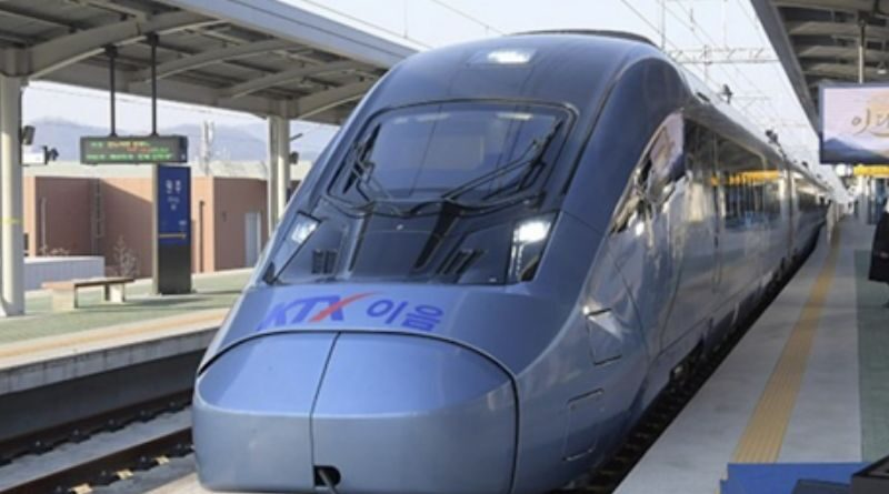 South Korea wants all trains to be electric
