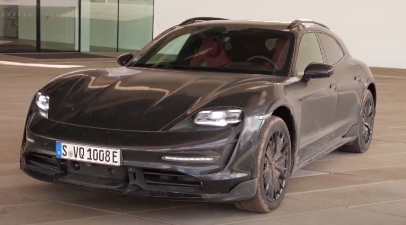 2022-porsche-taycan-cross-turismo-first-prototype-video