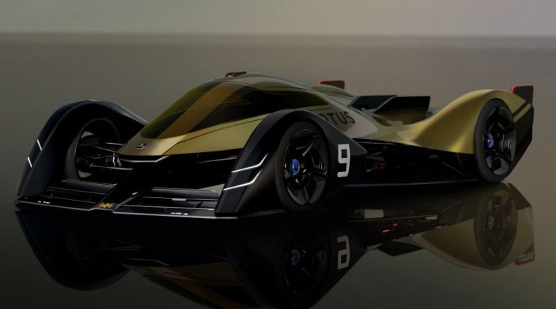 Lotus electric race car for the 24 hours of Le Mans