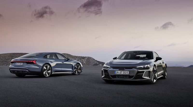 New e-Tron GT is Audi's electric flagship with 646 PS