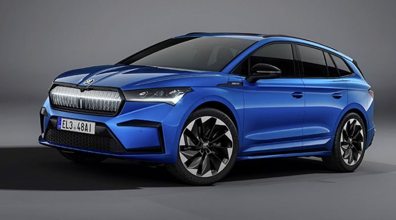 New Skoda Enyaq iV Sportline EV with sporty mood