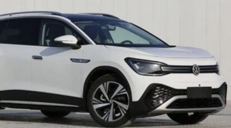 VW ID.6 full-size electric SUV new photo leaked