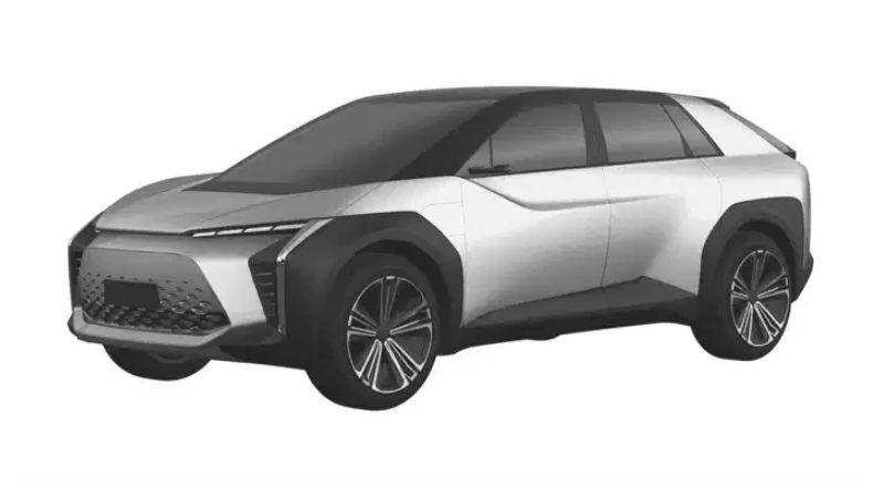 Toyota : Leaked the name and logo of the electric SUV
