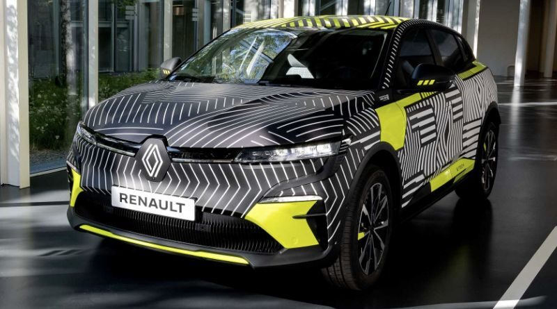 This is Renault Megane E-Tech electric production version