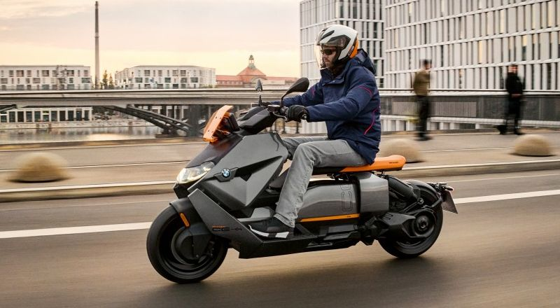 New electric scooter by BMW with 130km of range
