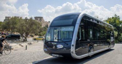 New fully electric bus in the Greek capital for testing