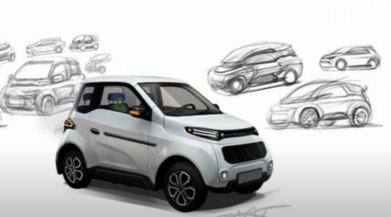 The electric car Zetta production to start end of 2021